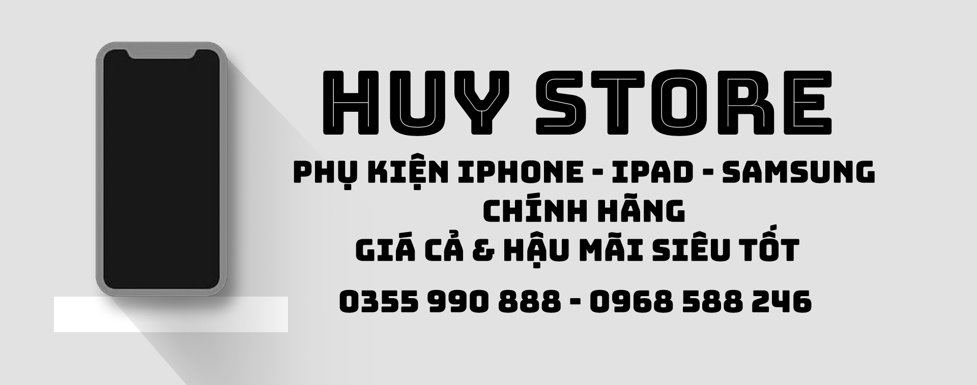 Banner Huy Store