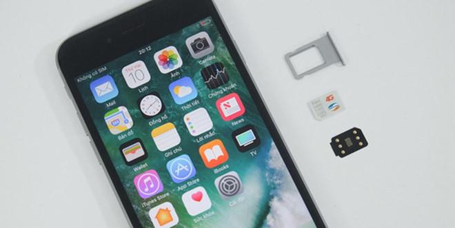 Quà giáng sinh từ Apple: ICCID Fake quốc tế không cần dùng sim ghép